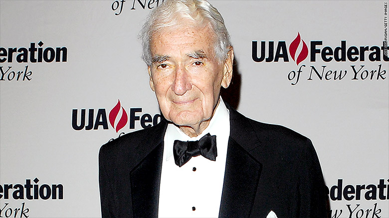 The late Ralph J. Roberts, owner of Comcast, America's largest media conglomerate. (via CNN Money)