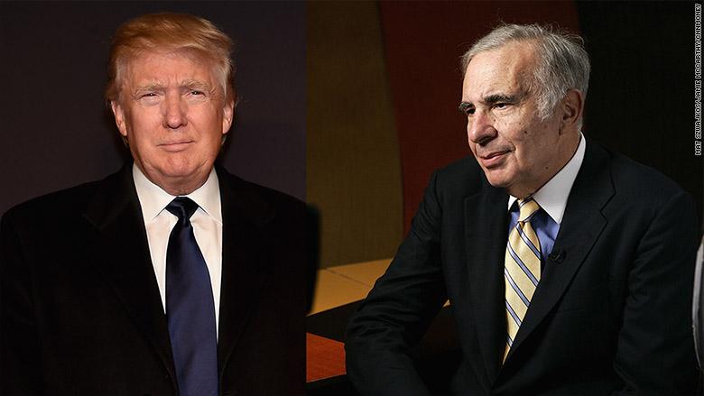 Carl Icahn: Trump stock market rally has 'gone too far'
