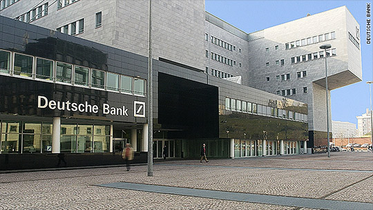 Deutsche Bank stock swings after warning of $7 billion loss