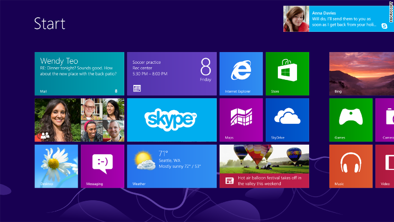 Microsoft finally kills support for Windows 8 - Jan. 15, 2016