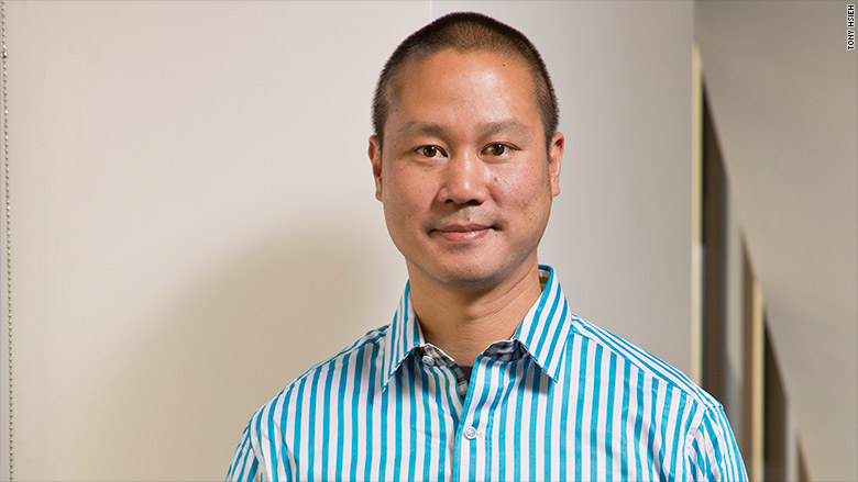 tony hsieh Tony hsieh, ceo of fast-growing online shoe and apparel retailer zapposcom, takes happiness seriously there's surprise free overnight shipping upgrades for vip customers, and a corporate face so friendly that lonely people are known to telephone zappos' corporate call center at all hours just to talk (the longest phone conversation so far.