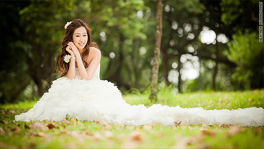 To be a glamorous bride for less, I flew to Taiwan