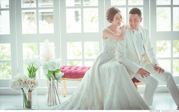 My whirlwind 24 hours in Taiwan as a bridal supermodel