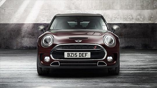 The new Mini car is mega-sized
