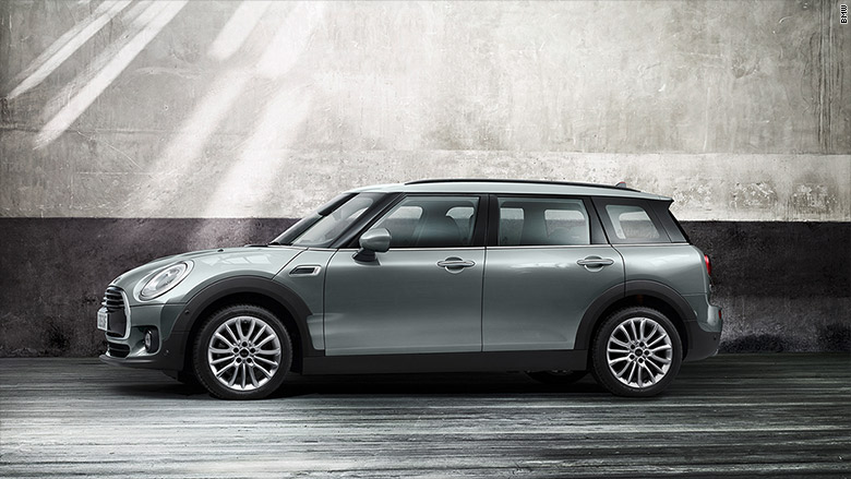 mini cooper clubman side