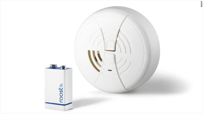 roost smart smoke alarm battery