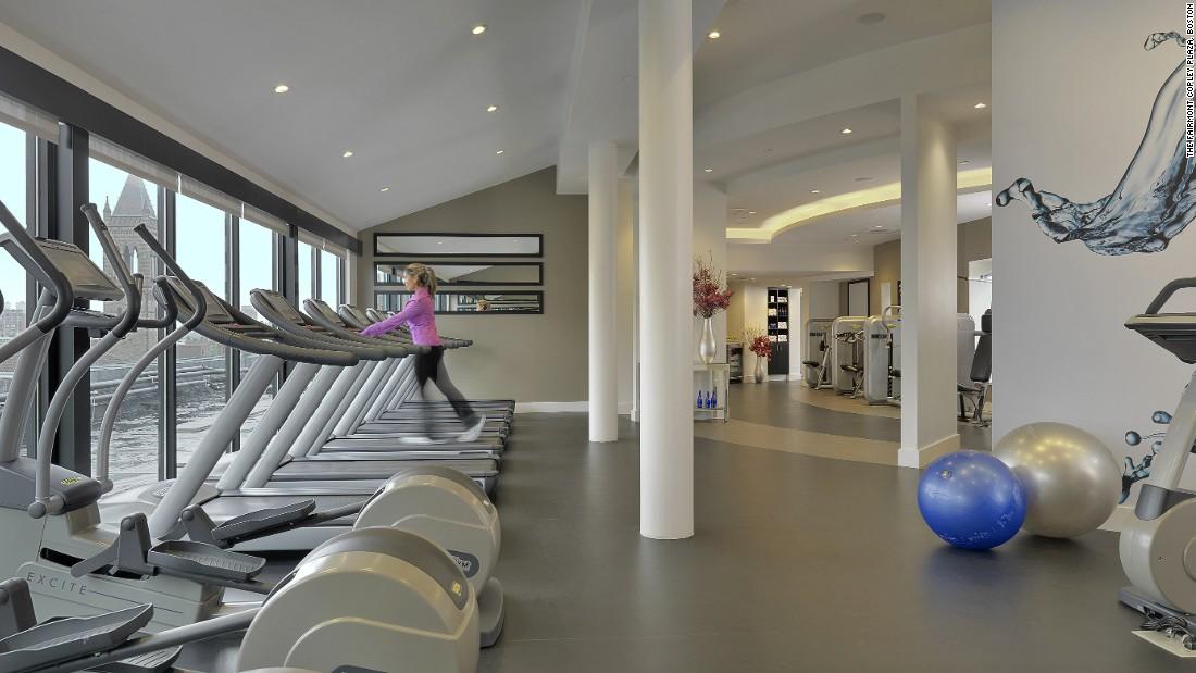 fairmont copley gym