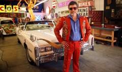 Driving Nudie Cohn's dazzling Cadillac