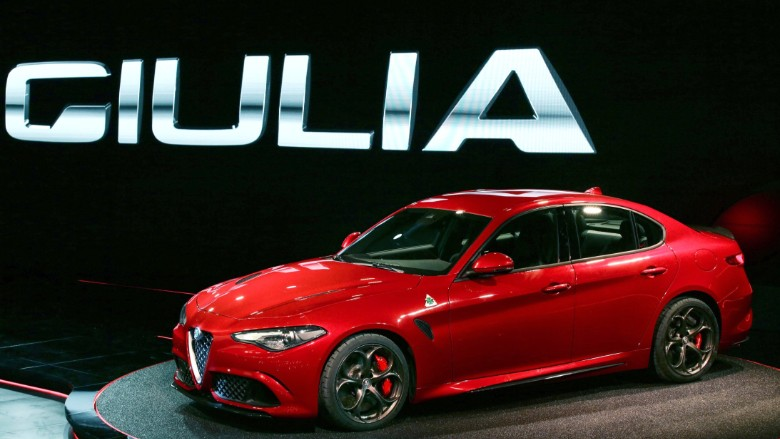 alfa romeo upshifts with 510 horsepower 39 giulia 39. Black Bedroom Furniture Sets. Home Design Ideas