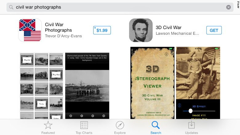 apple app store civil war