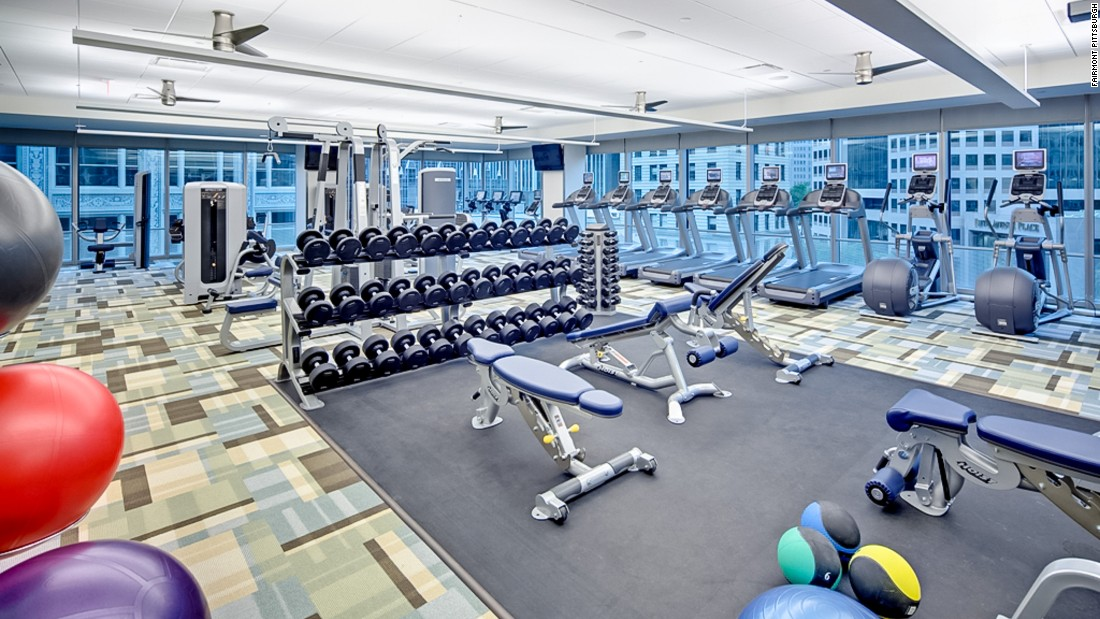 fairmont pittsburgh gym