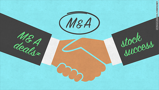 Key to stock market growth in 2015: Lots of M&A
