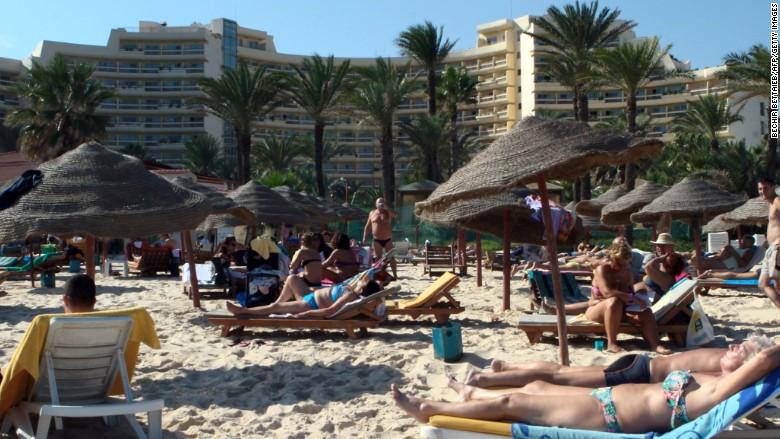 tunisia hotel beach
