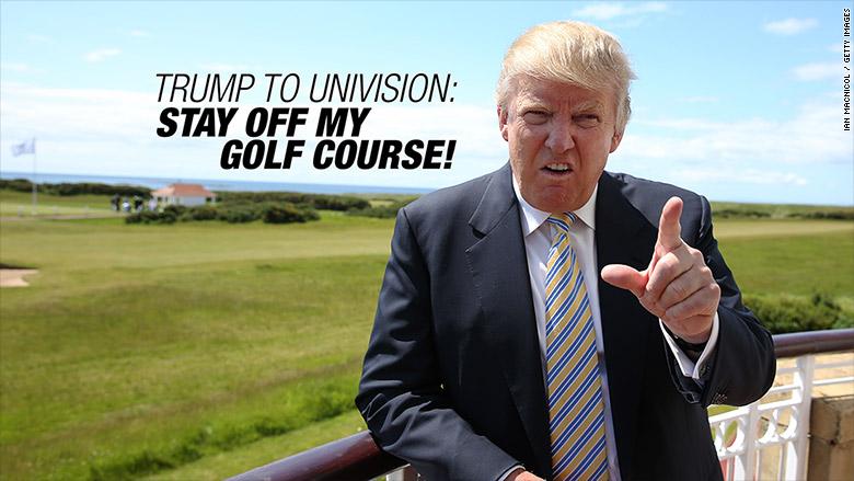 trump to univision