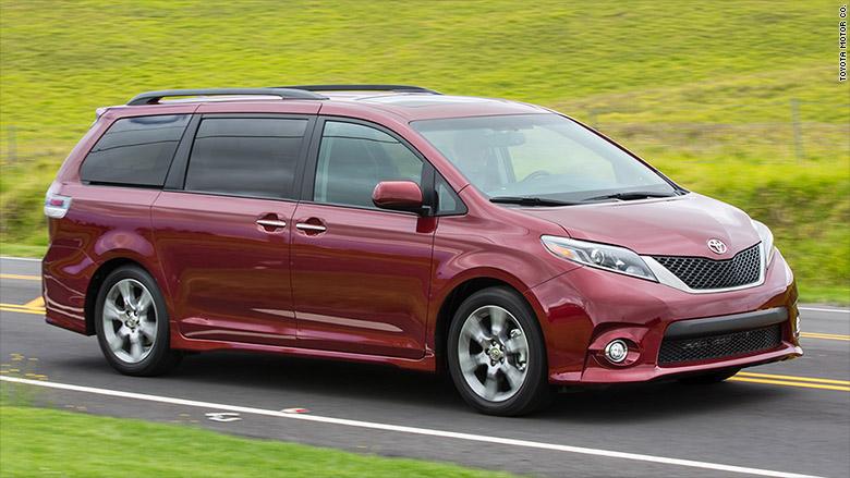 Elegant Problem With Sliding Doors Prompts Recall Of Toyota Sienna Minivans