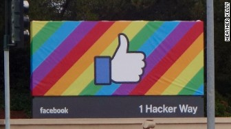 Facebook rainbow pride