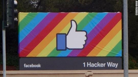 Facebook rainbow profiles used by 26 million