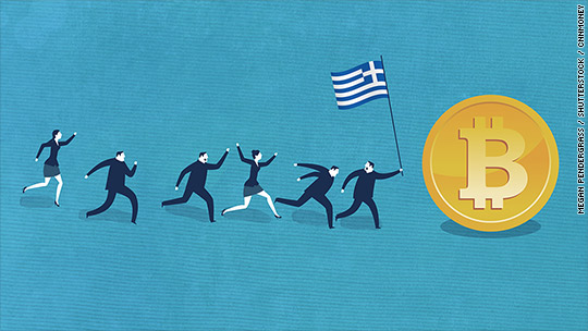 Greeks are rushing to Bitcoin