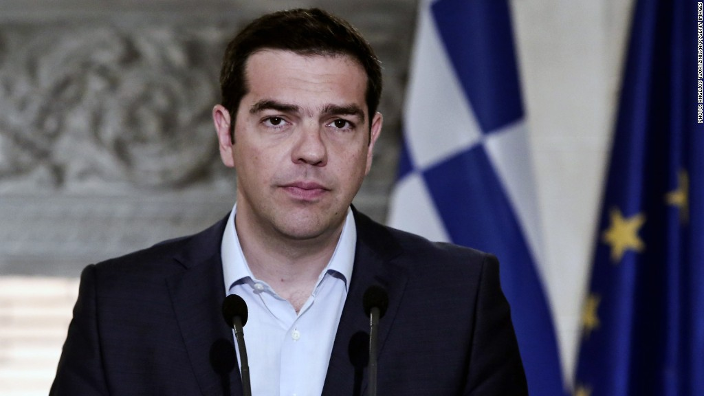 Here's the surrender letter from the Greek PM
