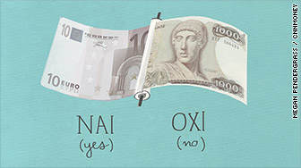 greece euro drachma