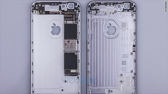 Leaked: Apple iPhone 6S photos