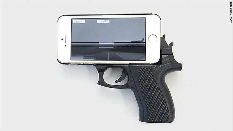 Gun Shaped Iphone Case