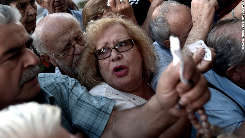 greek pensions anger