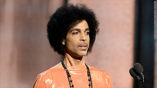 Prince pulls all of his music from Spotify