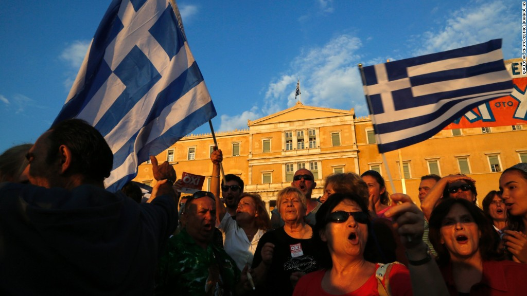 Greece: We're the 'antelope at the bottom' of a fight