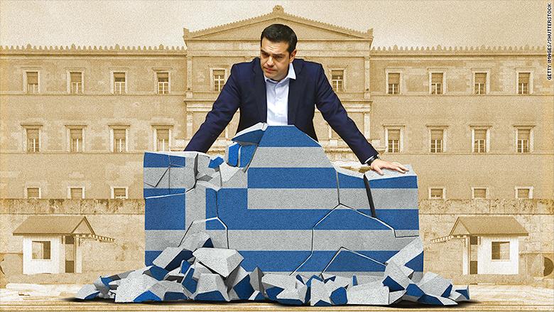 tsipras crumbling economy