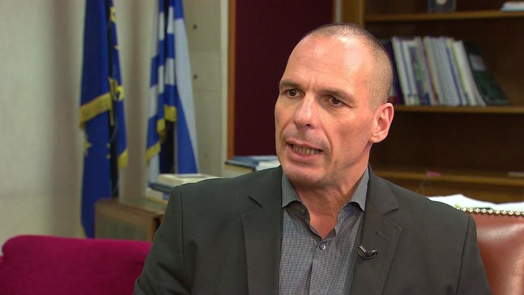 Greek finance minister won't 'extend and pretend'