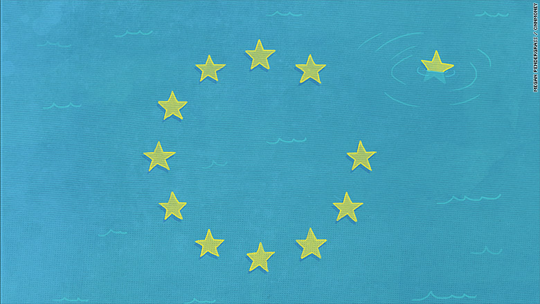 greece crisis illustration flag