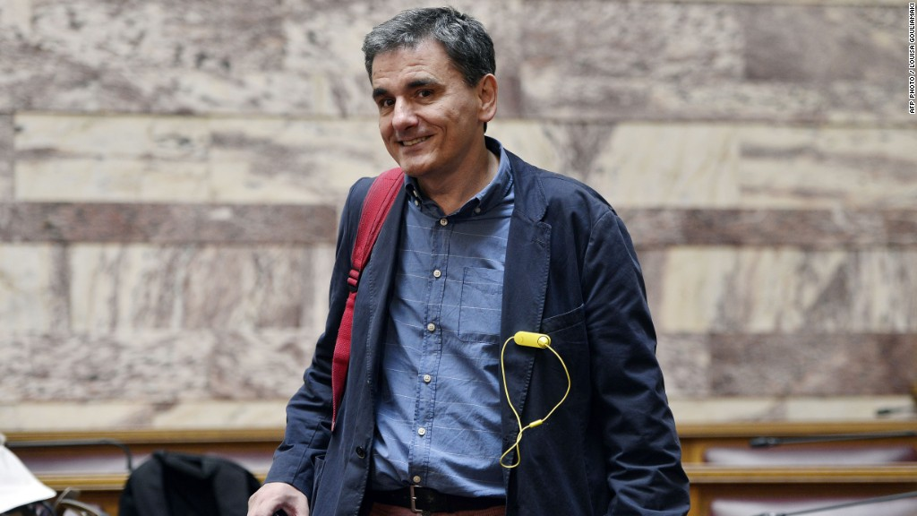 Meet Greece's new finance minister