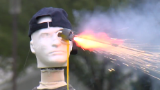 Dummies destroyed: Fireworks danger on display