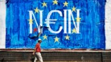 Graffiti about crisis fills Athens' streets