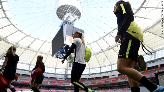 Buying frenzy for final game of Women's World Cup