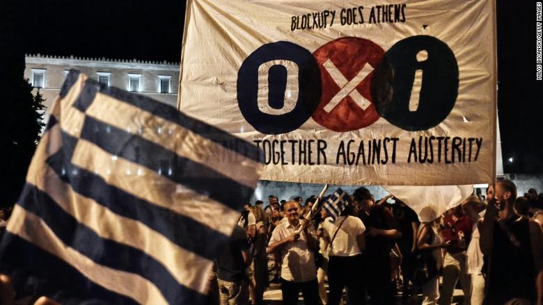 No! Greek vote shocks Europe