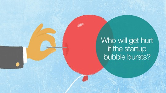 startup bubble