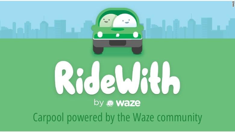 ridewith waze