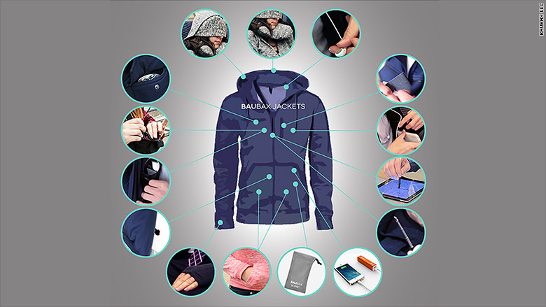 Technology: This travel jacket does 15 things at once