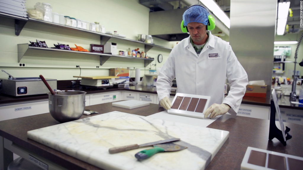 Inside Hershey's super secret chocolate lab