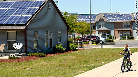 Obama: Let's put solar panels on these homes