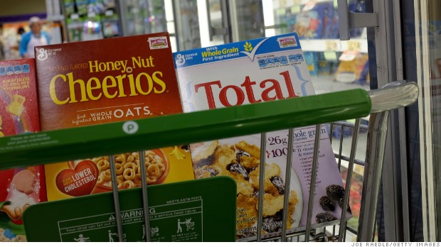 Consumers sour on yogurt and cereal