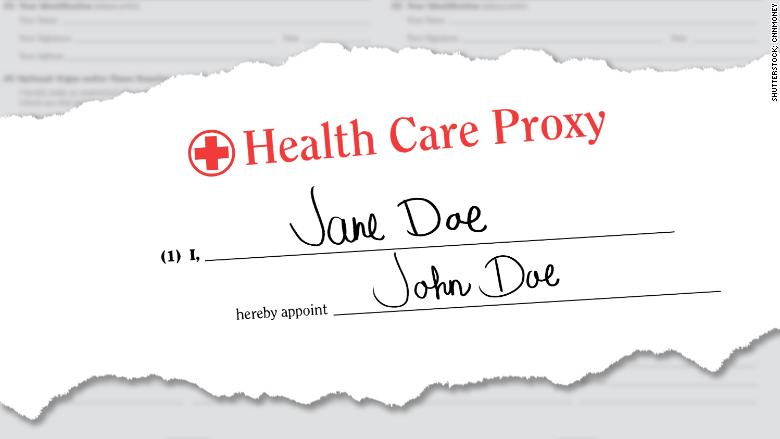healthcare proxy