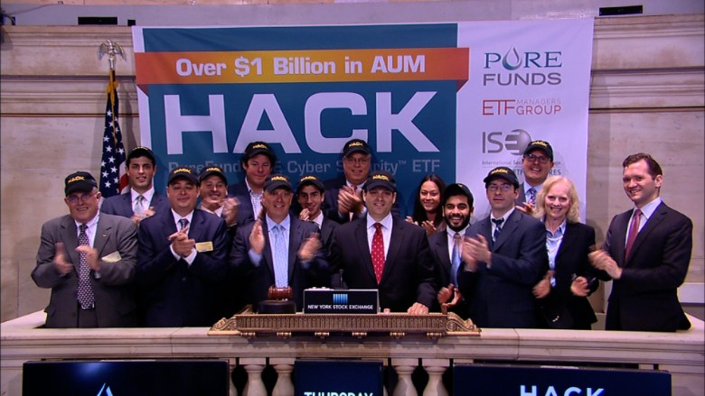 HACK opening bell