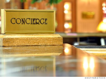 hotel concierge desk