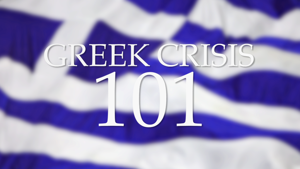 How to speak Greek debt crisis 101