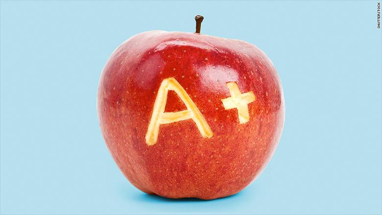 grade a apple