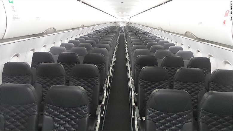 frontier middle seat