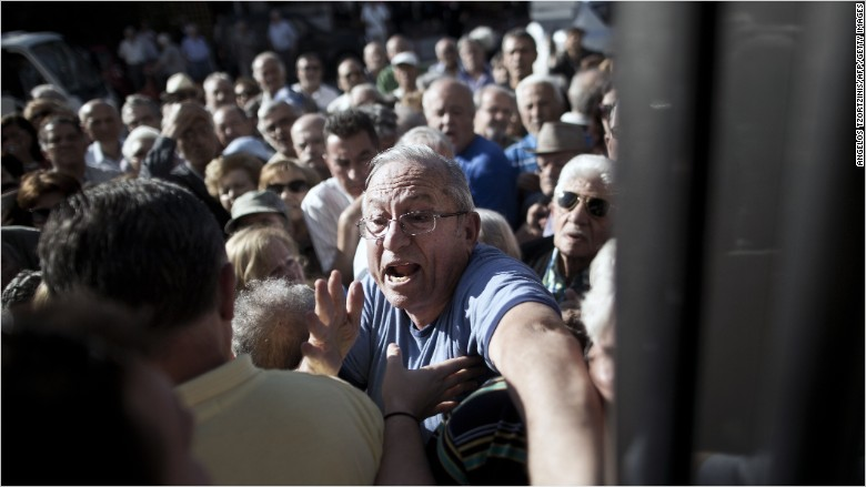 greece economy angry pensioners